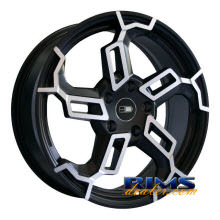 HD Wheels - Switch - black flat w/ machined