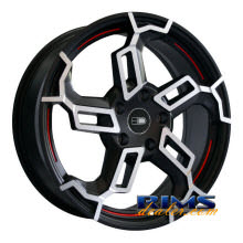 HD Wheels - Switch - black w/ stripe