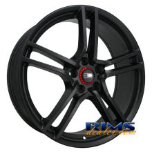 HD Wheels - Vento - black flat