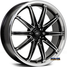 ICW Racing - 214MB - Tsumani - black gloss w/ machined