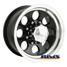 Ion Alloy Wheels - 171 off-road - machined w/ black
