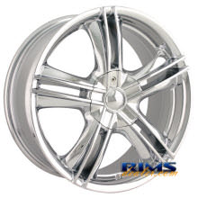 Ion Alloy Wheels - 161 - chrome