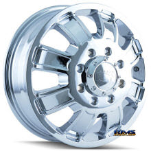 Ion Alloy Wheels - 166 off-road - chrome
