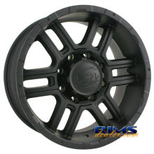 Ion Alloy Wheels - 179 off-road - black flat