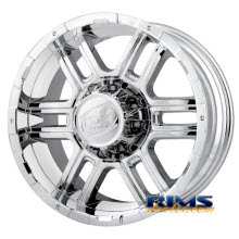 Ion Alloy Wheels - 179 off-road - chrome