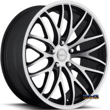 KATANA WHEELS - GTM - Machined w/ Black