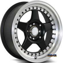 KATANA WHEELS - K122 - Machined w/ Black