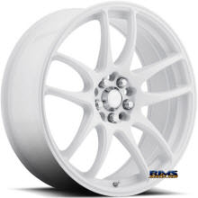 KATANA WHEELS - K123 - Machined w/ White
