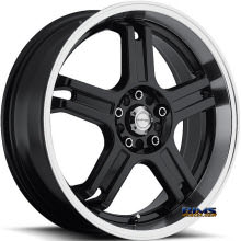 KATANA WHEELS - RZ5 - Machined w/ Black