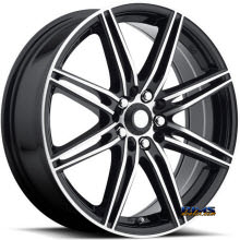 KATANA WHEELS - TM1 - Machined w/ Black