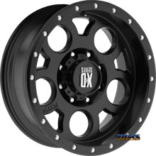 KMC XD Off-Road - XD126 - SATIN BLACK
