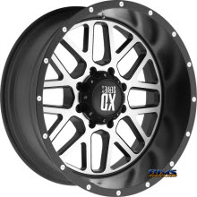 KMC XD Off-Road - XD820 - Satin Black