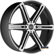 KMC - KM686 Faction - Satin Black
