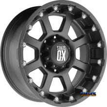 KMC XD Off-Road - XD807 Strike - Black Flat
