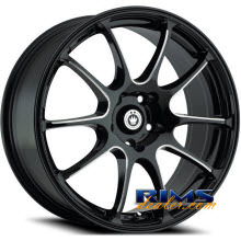 KONIG - Illusion - machined w/ black