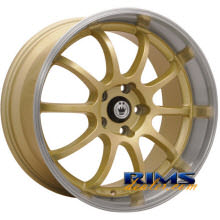 KONIG - Lightning - machined w/ gold