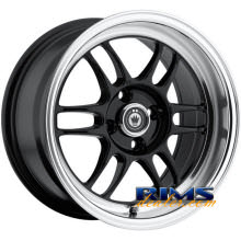 KONIG - Wideopen - black gloss w/ machined