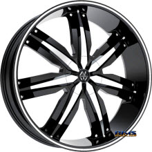 MASSIV WHEELS - 916 VENEZO - Machined w/ Black