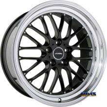 ACE ALLOY - SL-M D715 - Diamond Lip - black flat