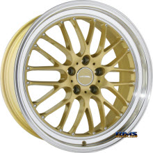 ACE ALLOY - SL-M D715 - Diamond Lip - gold w/ machined