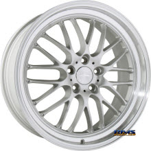 ACE ALLOY - SL-M D715 - Diamond Lip - Silver Flat