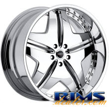 MHT Forged - EXCESS - chrome w/ black cap