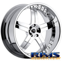 MHT Forged - LLC (5-LUG) - chrome
