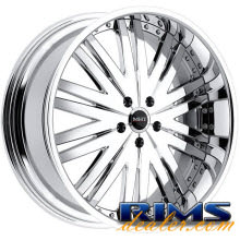 MHT Forged - MANHATTAN - chrome