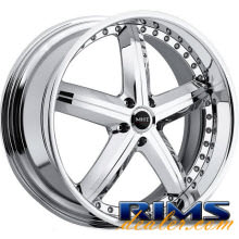 MHT Forged - MONTAGE (5-LUG) - chrome