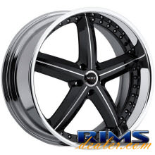 MHT Forged - MONTAGE (5-LUG) - black gloss