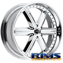 MHT Forged - MONTAGE (6-LUG) - chrome