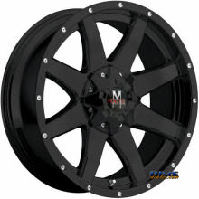Off-Road Monster - M08  - Black Flat