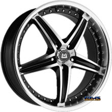 Motegi Racing - MR107 - Black Gloss w/ Machined