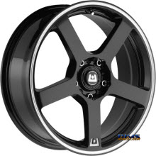 Motegi Racing - MR116 - Black Gloss w/ Machined