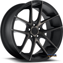 NICHE - Targa M130 - black flat w/ machined