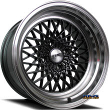 NS Drift Wheels - DV2 - Machined w/ Gunmetal