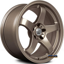 NS Drift Wheels - M01 - Bronze Flat