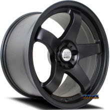 NS Drift Wheels - M01 - Black Flat