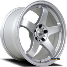 NS Drift Wheels - M01 - Silver Flat