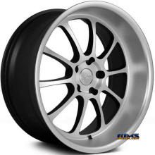 NS Drift Wheels - TEN - Silver Flat