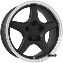 OE Performance Wheels - 103B - Machined w/ Black