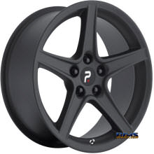OE Performance Wheels - 110MB - Black Flat