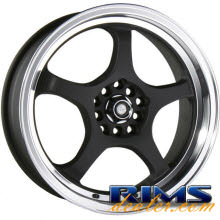 Raze Wheels - R24 - black flat