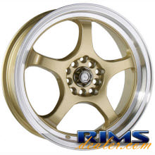 Raze Wheels - R24 - gold gloss