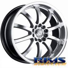 Raze Wheels - R51 - hypersilver