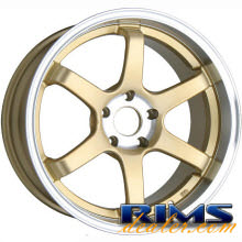 Raze Wheels - R74 - gold gloss