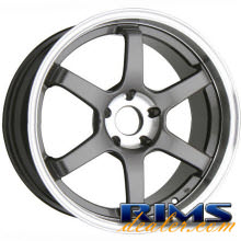 Raze Wheels - R74 - gunmetal gloss