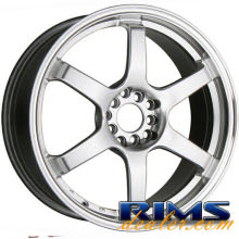 Raze Wheels - R74 - hypersilver