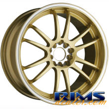 Raze Wheels - R84 - gold gloss