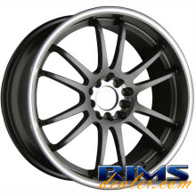 Raze Wheels - R84 - gunmetal gloss